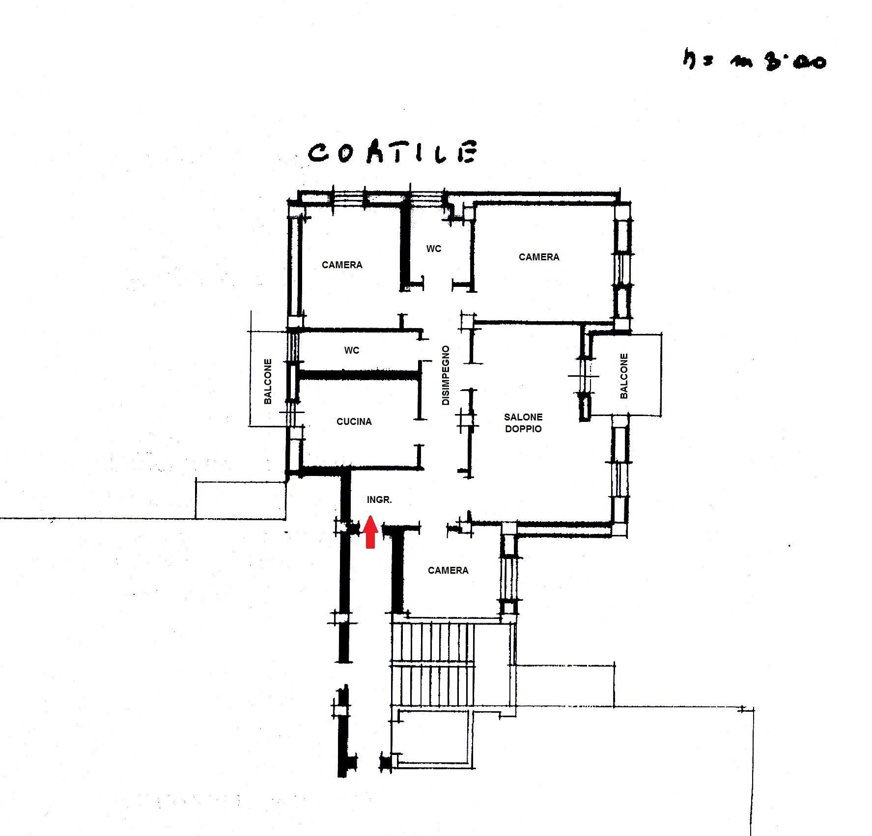 Appartamento In Vendita a Foggia CORSO ROMA, 115  – 5 Vani +  2 wc e cantina