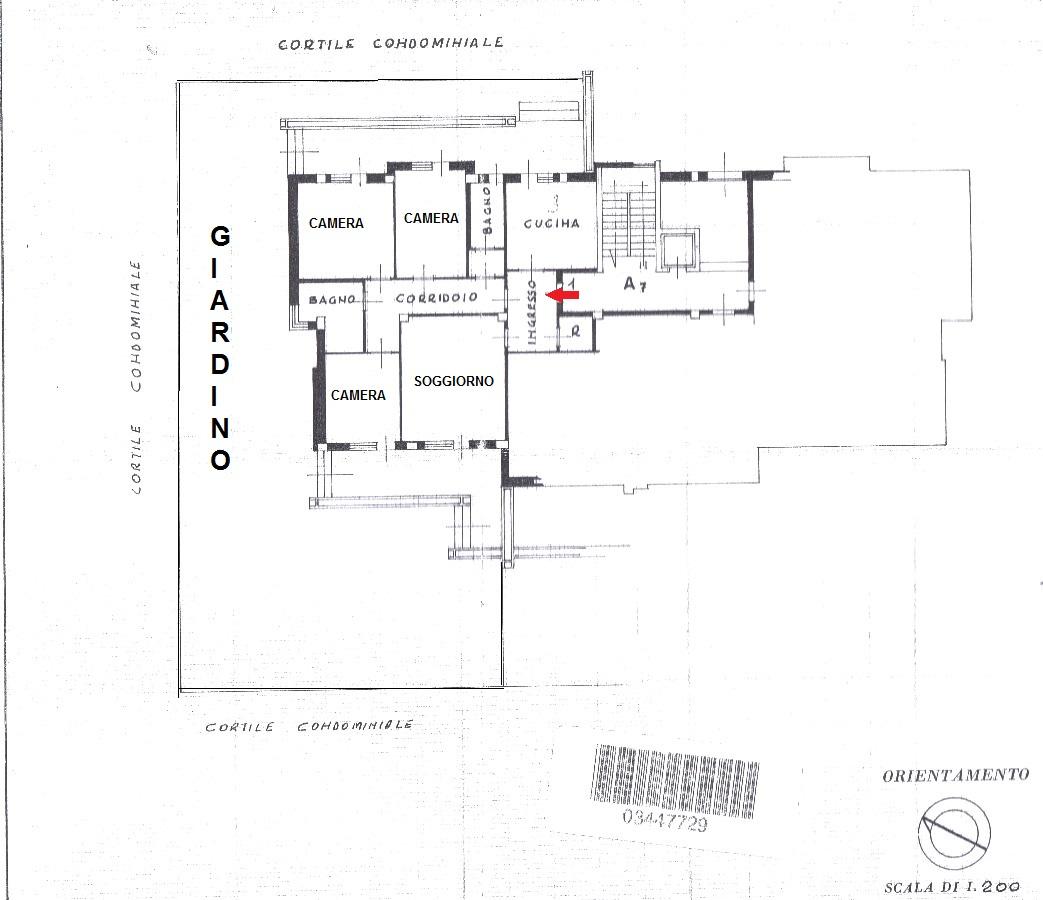 Appartamento In Vendita a Foggia VIA FILIPPO SMALDONE, 28 – 4 vani + 2 wc e box