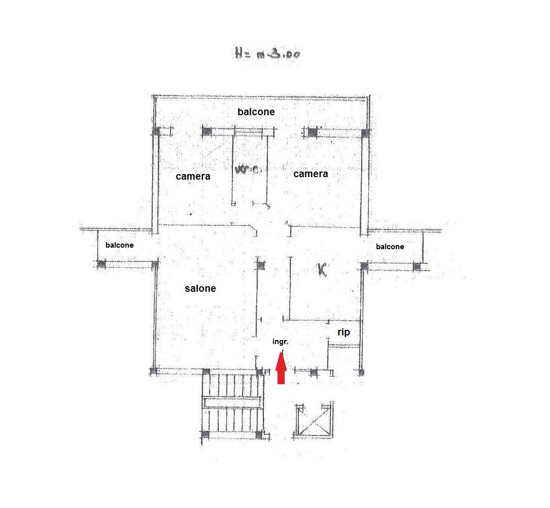Appartamento In Vendita a Foggia VIA ENZO FIORITTO, 27  – 3 vani + posto auto