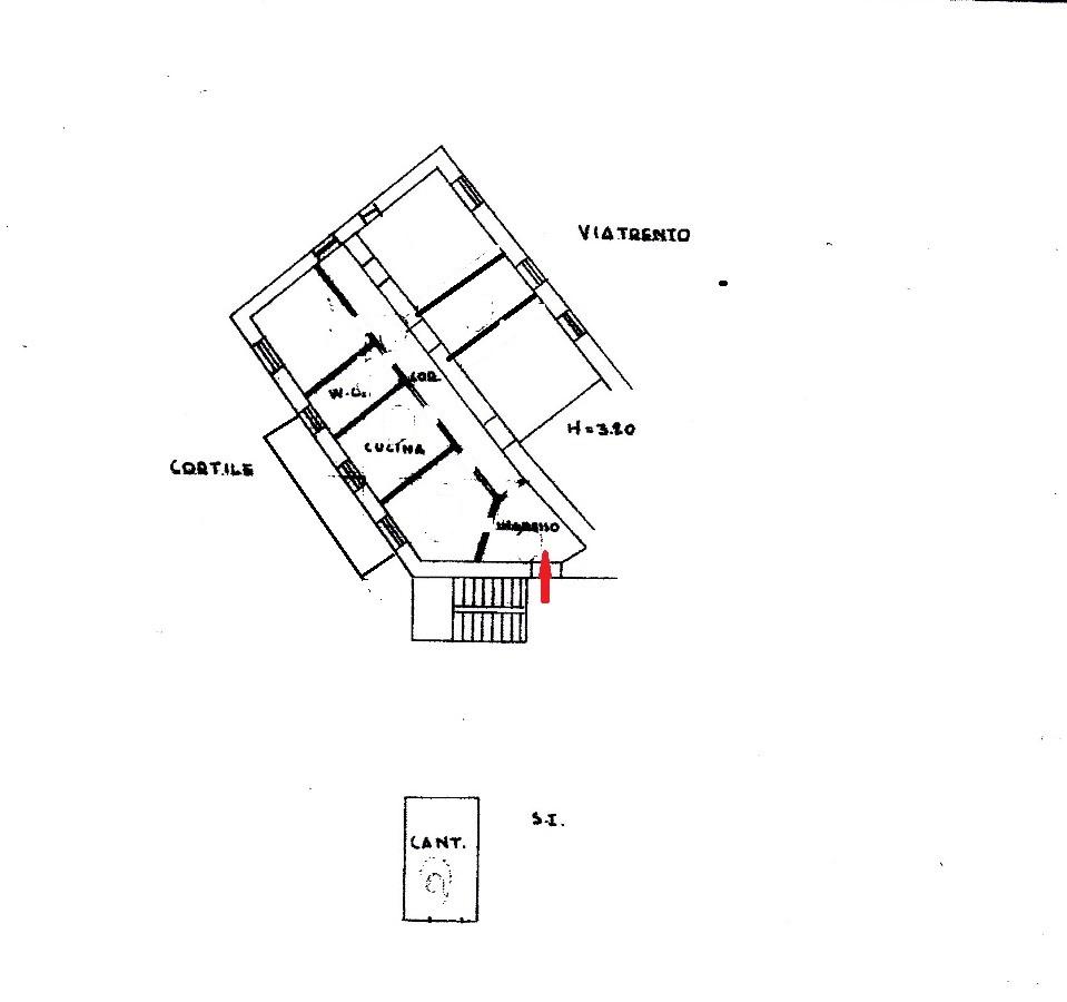 Appartamento in vendita a Foggia VIA TRIESTE, 7 – 5 vani + cantina
