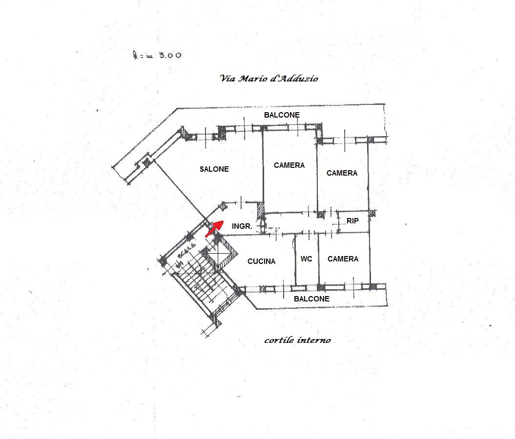 Appartamento In Vendita A Foggia VIALE OFANTO, 184  – 5 Vani + Box