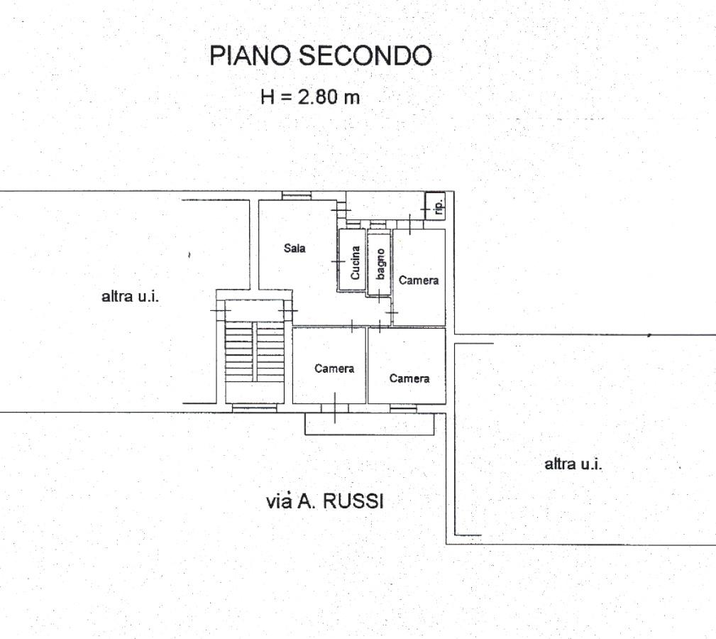 Appartamento In Vendita a Foggia VIA ANTONIO RUSSI, 16  – 4 Vani + Acc.